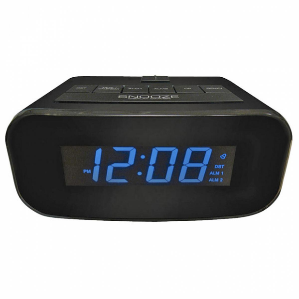 Advance Time Technology Electric Lcd Alarm Clock With Usb Charging ...