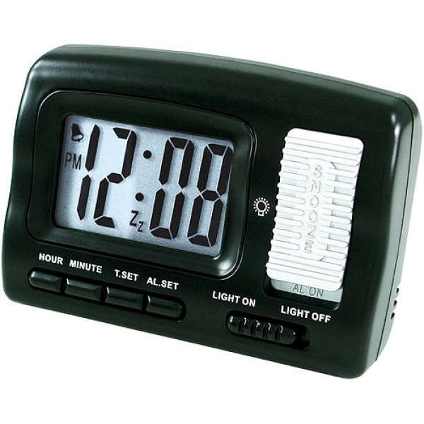 Elgin Travel Alarm Clock - Walmart.com
