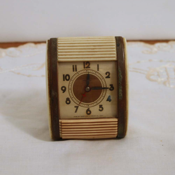 Vintage Clock Westclox Travel Alarm Clock by Cottonridgevintage