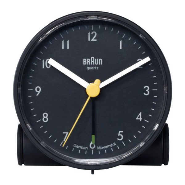 Details about Braun Round Analog Travel Alarm Clock