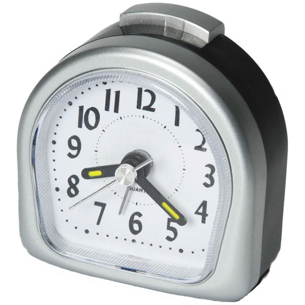 Packing Aids » Lite Touch Analog Travel Alarm Clock