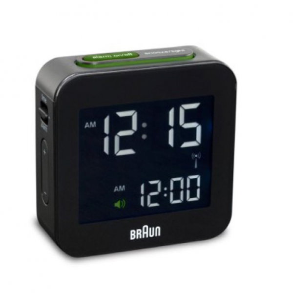 Braun Digital Travel Alarm Clock | Desires | Pinterest