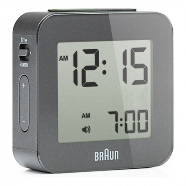 Braun Digital Travel Alarm Clock BN-C008 | PLASTICA