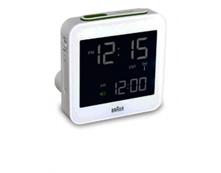 Braun BNC008 Digital Travel Alarm Clock
