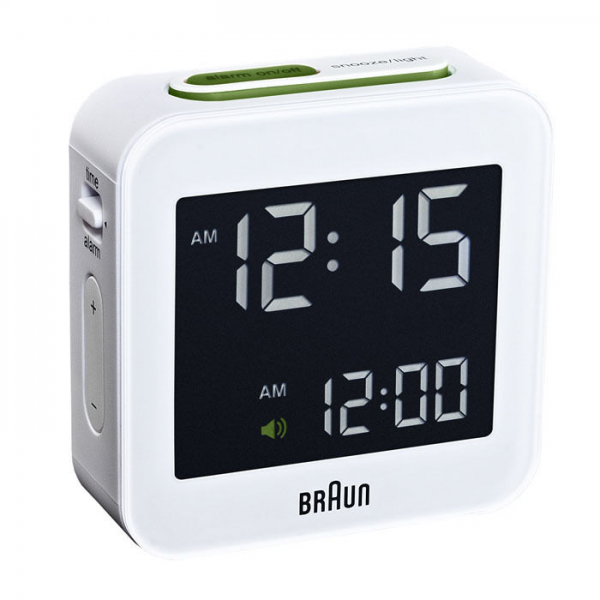 Details about Braun Digital Travel Alarm Clock