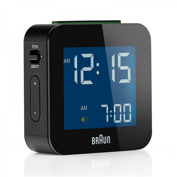 braun digital travel alarm clock $ 35