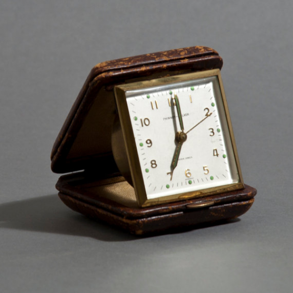 Items similar to Vintage Phinny Walker Travel Alarm Clock on Etsy