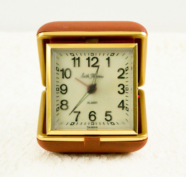 Vintage Seth Thomas Travel Alarm Clock by esther2u2 on Etsy