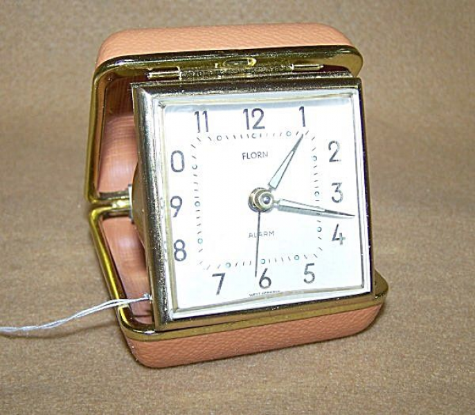 Vintage travel alarm clock | Things I remember | Pinterest