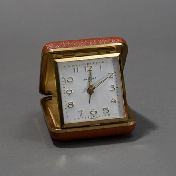Items similar to Vintage Northfield Travel Alarm Clock on Etsy