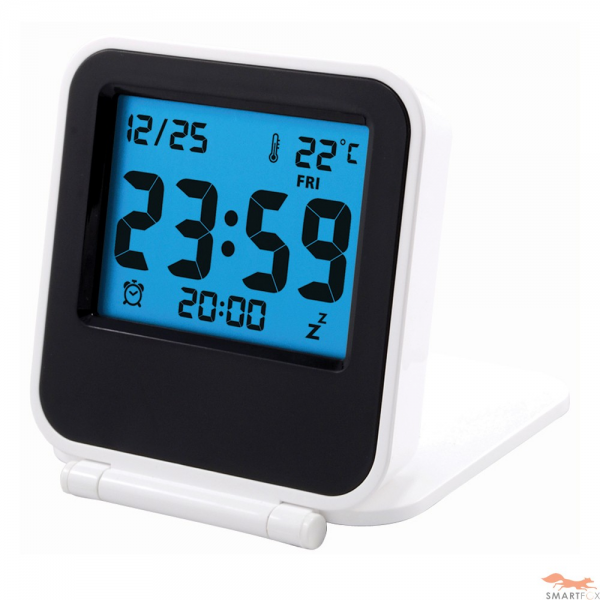 travel smart alarm clocks travel alarm clocks www top clocks com. Black Bedroom Furniture Sets. Home Design Ideas
