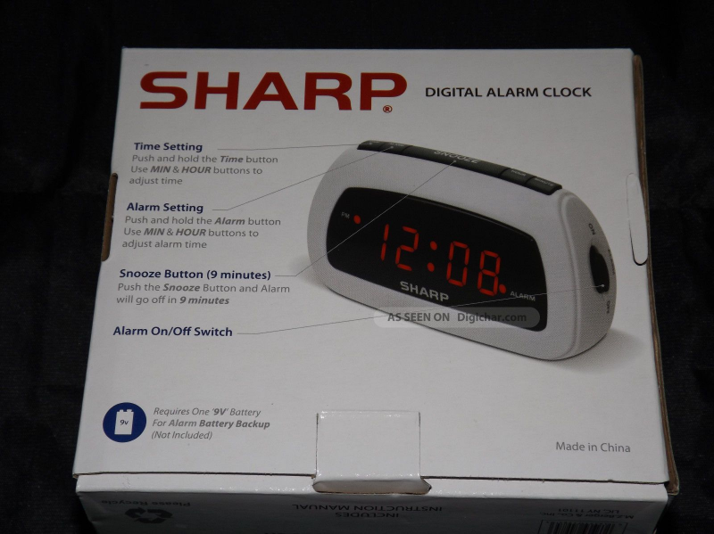 ... category gadgets other electronics digital clocks clock radios sharp
