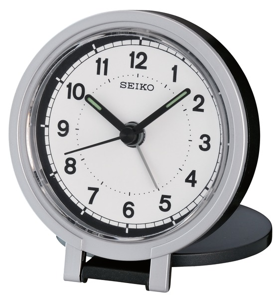 > Watches and Clocks > Seiko Clock - Easy To Read Travel Alarm Clock ...