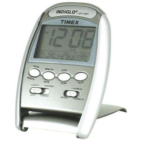 Timex 3531T Indiglo® Travel Alarm Clock