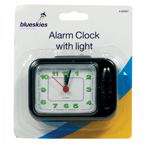 Travel Alarm Clock With Light | Discount Wholesale