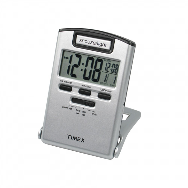 Timex' Digital travel alarm clock with light - Outdoor Gear ...
