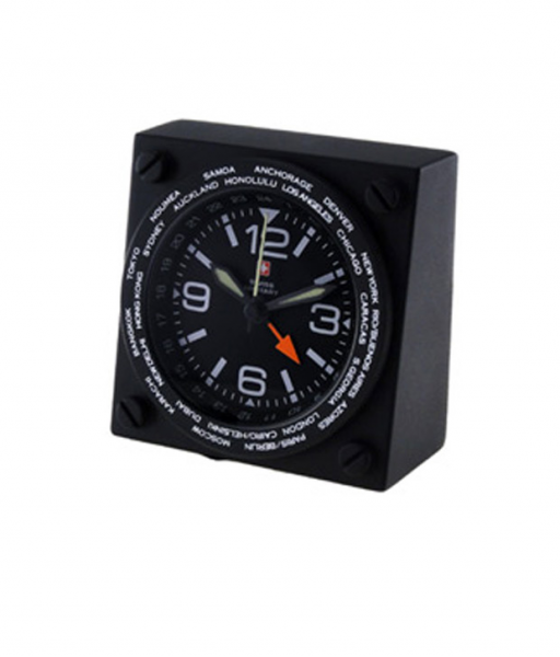 Buy Swiss Military World Travel Alarm Clock @ Best Prices | Snapdeal