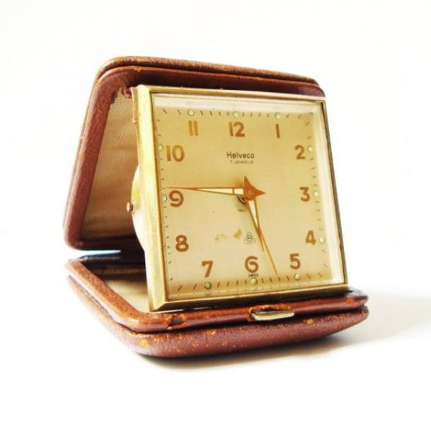 Victorinox Dual Time Travel Alarm Clock