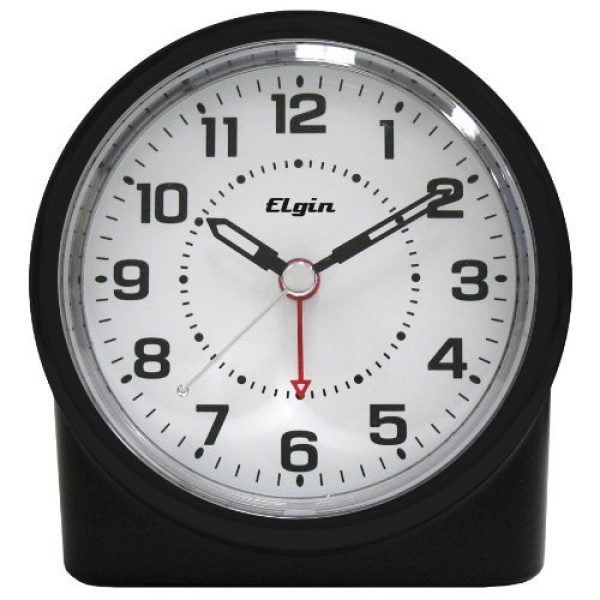 Elgin 3675e Battery-operated Analog Alarm Clock by Timex - Decorstuff ...