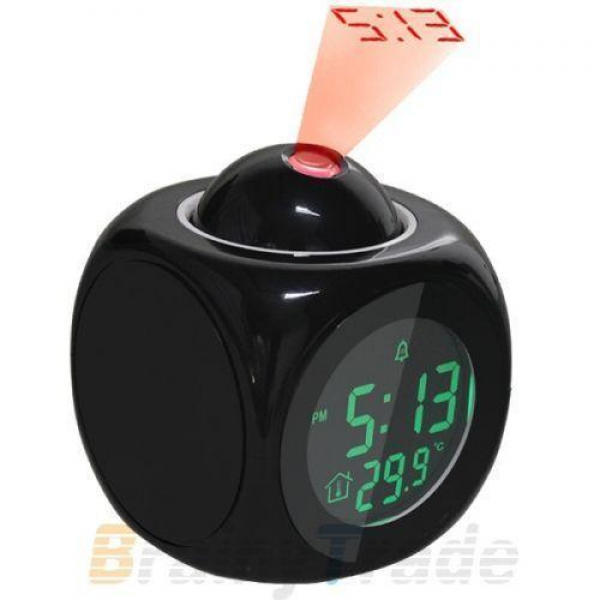 Battery Powered Alarm Clock | eBay