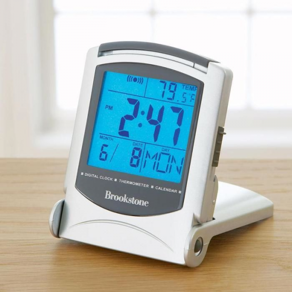 Bright Backlight Travel Alarm Clock With Temperature