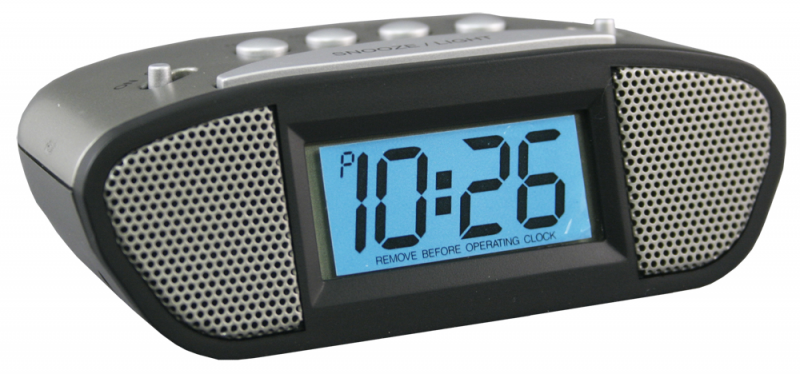 loud travel alarm clock by equity loud travel alarm clock by equity ...