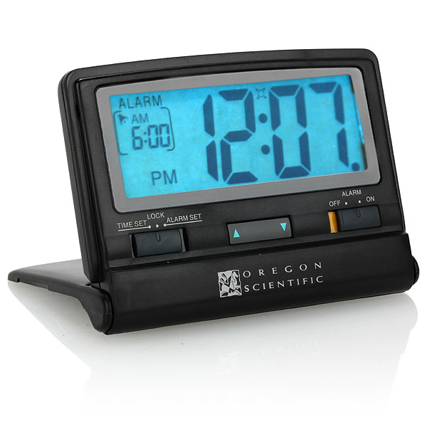 nightfinder widescreen travel clock no more fumbling for the clock in ...