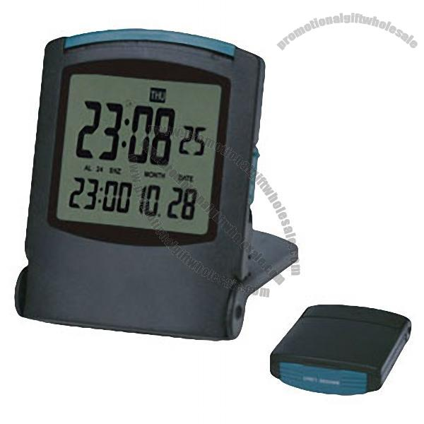 Promotional LCD Travel Alarm Clock with Digital Calendar Gift ...