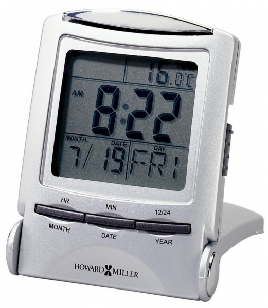 Clockway: Howard Miller Technology Tabletop Travel Alarm Clock ...