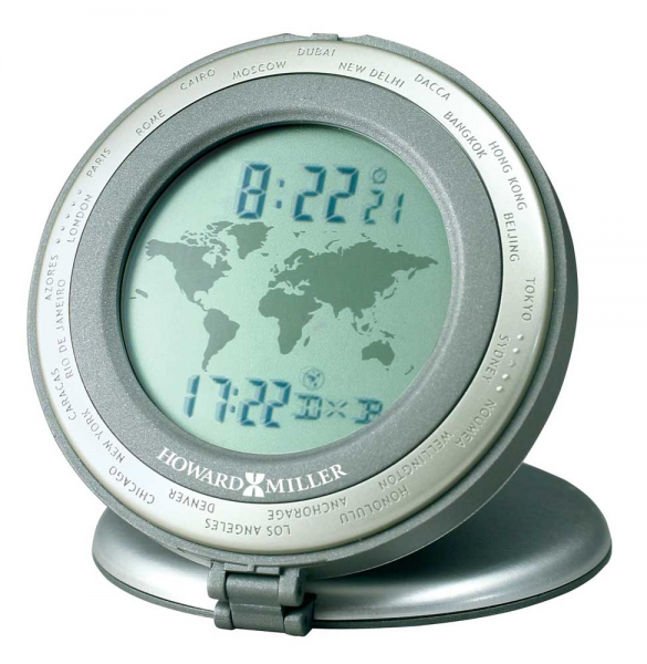 World Travel Alarm Clock by Howard Miller - Howard Miller Clocks