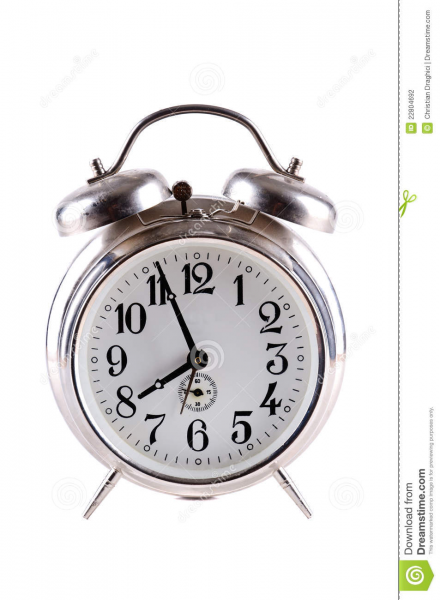 Old Alarm Clock Stock Photography - Image: 22804692