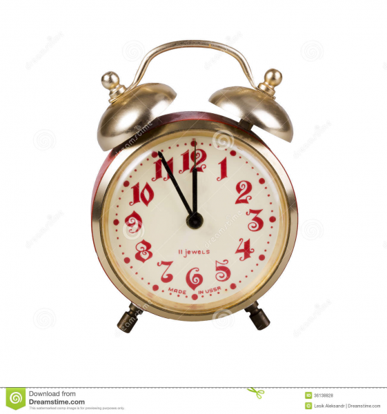Old Alarm Clock Royalty Free Stock Photos - Image: 36138828