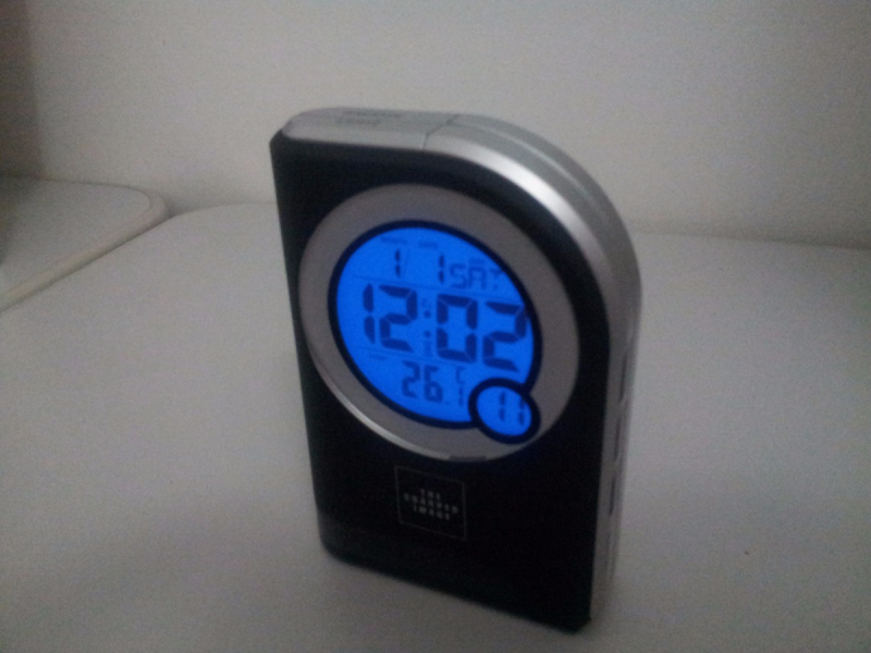 Relógio Despertador The Sharper Image's Travel Alarm Clock