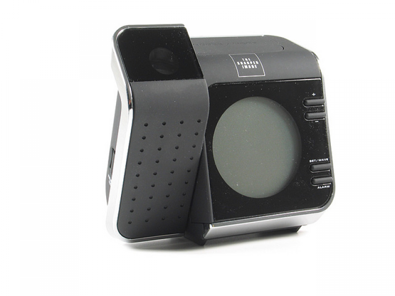 ET006 - Projection Alarm Clock - The Sharper Image | Flickr - Photo ...