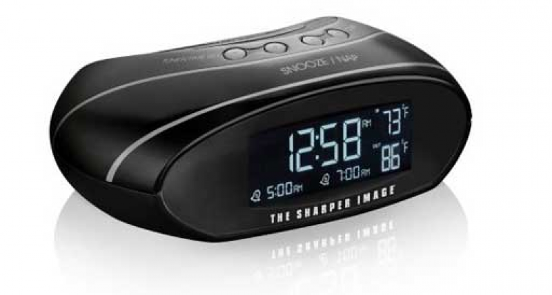sharper image alarm clock image search results