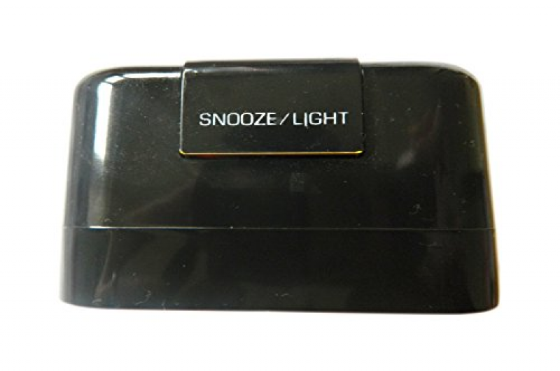 Travelwey Travel Alarm Clock - No Ticking, Big Digits, Snooze ...