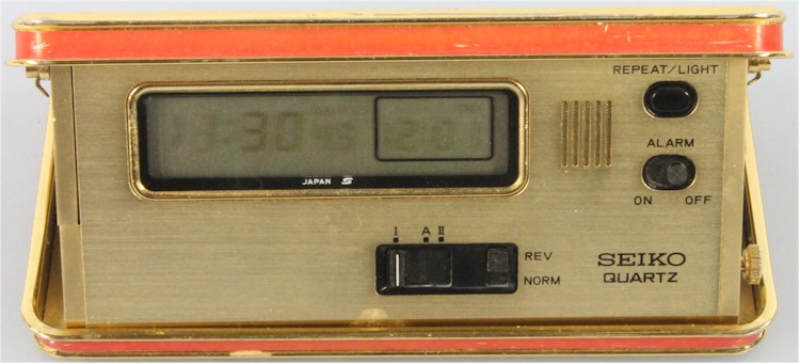Details about Vintage Pocket Seiko Travel LCD Alarm Clock