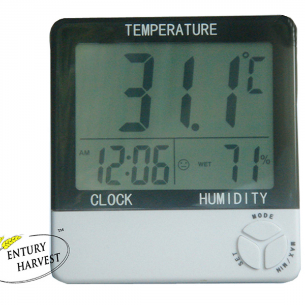 Alarm Clock Thermo Hygrometer with Magnet (S - WS13)