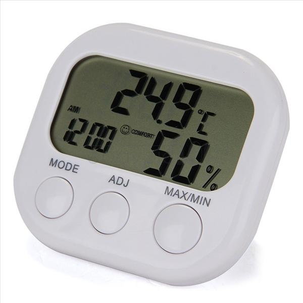 Digital LCD Alarm Clock Temperature Humidity Meter (end 6/23/2015 12 ...