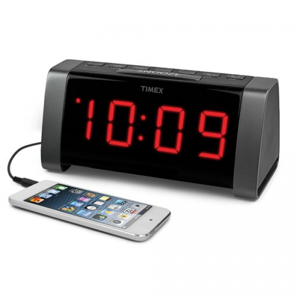 timex dual alarm clock cool alarm clocks www top clocks com. Black Bedroom Furniture Sets. Home Design Ideas