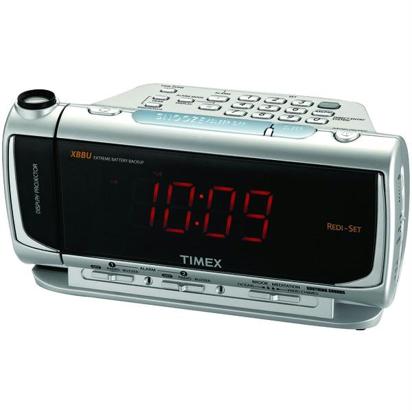 Details about Timex Dual Alarm Clock Radio With Redi-Set Auto