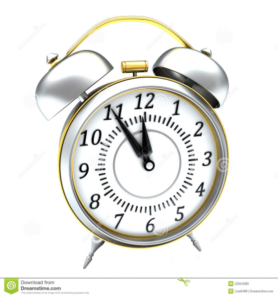 Classic Alarm Clock Stock Photo - Image: 22554280