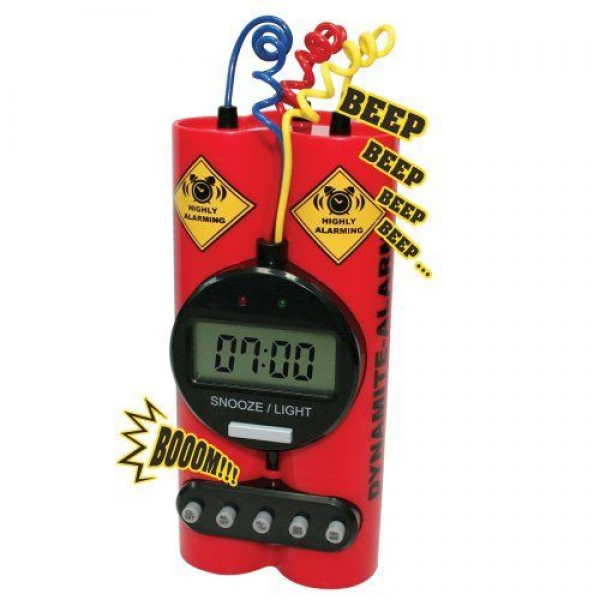 Dynamite Alarm Clock | Gift Ideas, for me, for you, for anyone | Pint ...