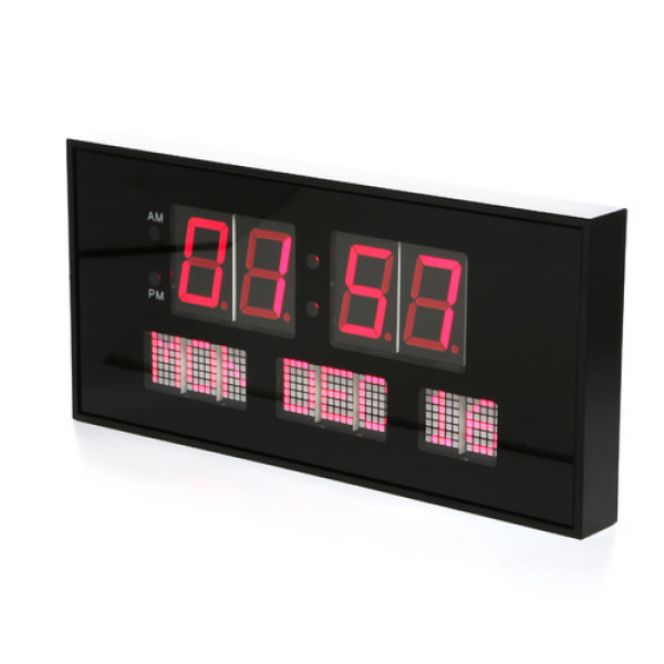 Big Time Clocks Super Large LED Digital Calendar Clock