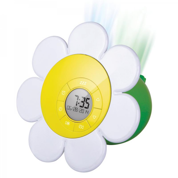 Discovery Kids Projection Alarm Clock - Daisy