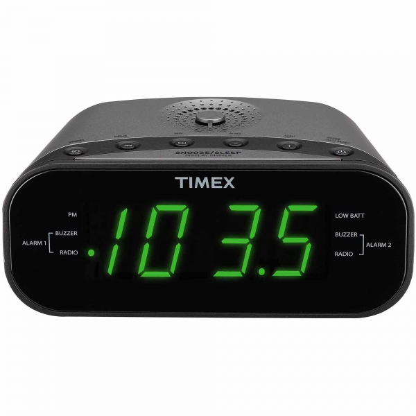 timex alarm clock cool alarm clocks www top clocks com. Black Bedroom Furniture Sets. Home Design Ideas