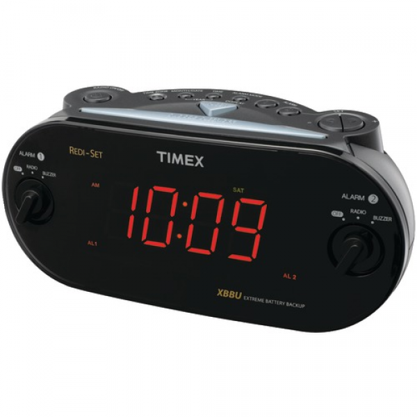 timex alarm clock cool alarm clocks www top clocks com. Black Bedroom Furniture Sets. Home Design Ideas