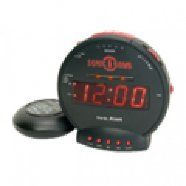 Sonic Bomb Alarm Clock | Assistive Technology Devices by Florida ...