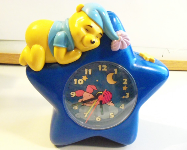 ... Winnie The Pooh Amp Piglet Star Clock Figural with Alarm 6 034 | eBay