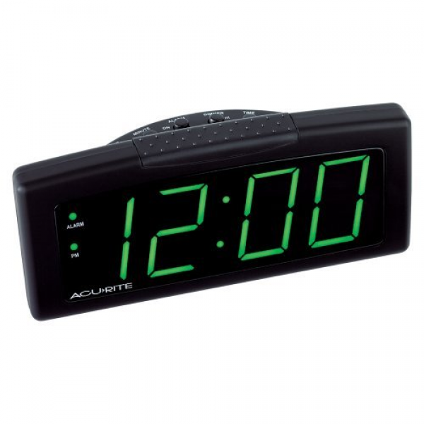 Amazon.com - Chaney Instruments Digital Alarm Clock with Green LED ...